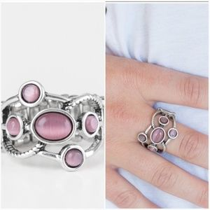 MOON MOOD PURPLE MOONSTONE RING